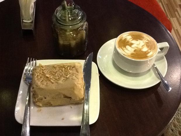 Mocha Sansrival and Cappuccino